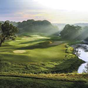 River golf course at Blackwolf Run - hole 5