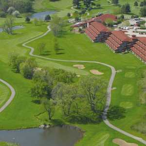 The House on the Rock R & GC: aerial view