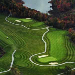 Autumn Ridge GC: Aerial view