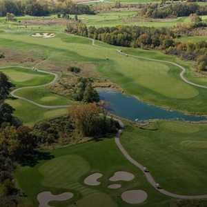University Ridge GC: Aerial view