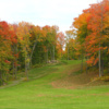 A fall view of fairway #17 at Skye Golf Course