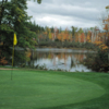 A fall view of a hole with water coming into play at Trout Lake Golf & Country Club