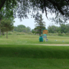 A view of a tee at Oconto Golf Club