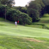 A view of a green at Quail Run Golf Links