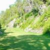 A view of a fairway at Alpine Resort & Golf.