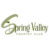 Spring Valley Country Club - Public Logo